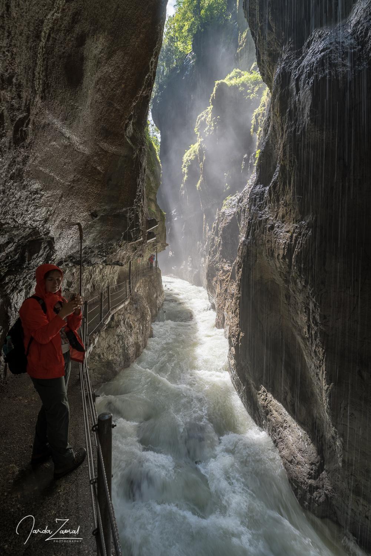 The Partnach Gorge is gorgeous