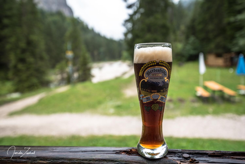 Simply amazing Weizenbier on the way to Zugspitze