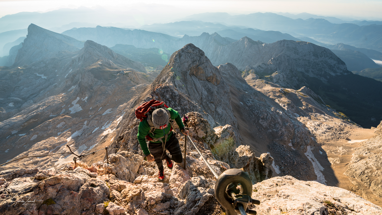 Expect very steep climb before reaching Triglav